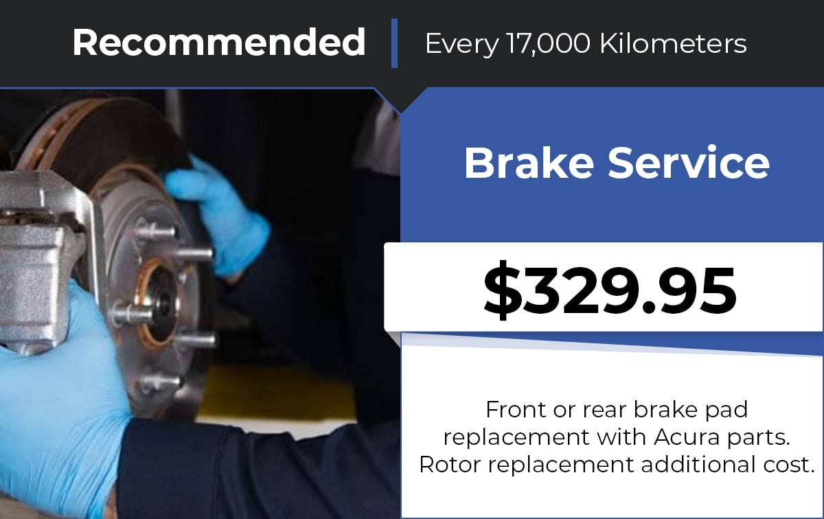 Acura Brake Service Special Coupon