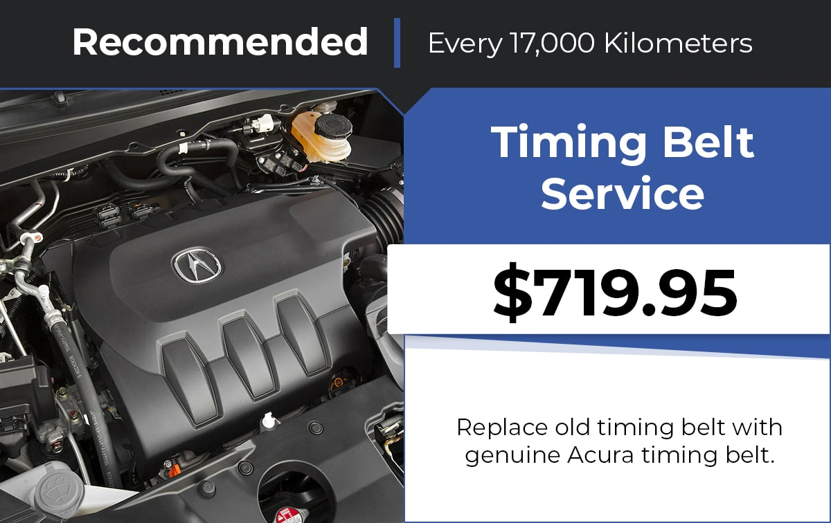 Acura Timing Belt Service Special Coupon