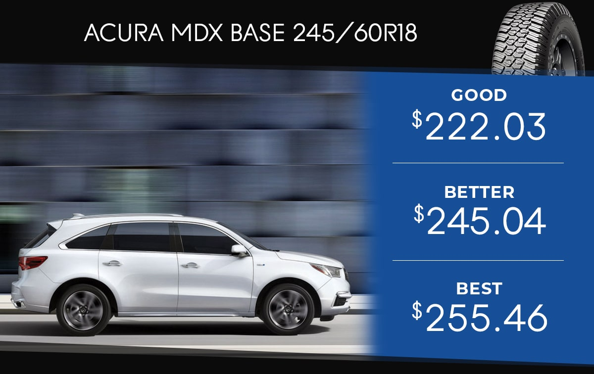 Acura MDX  Tire Special