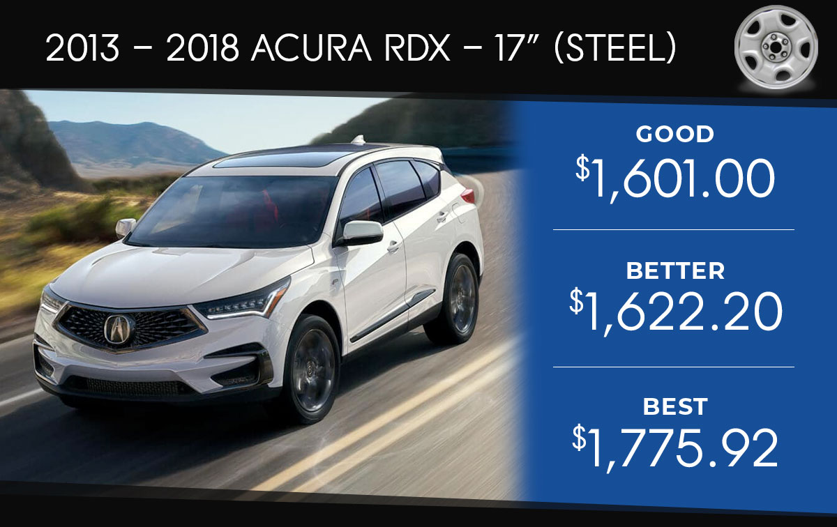 Acura RDX 17 Tire Special
