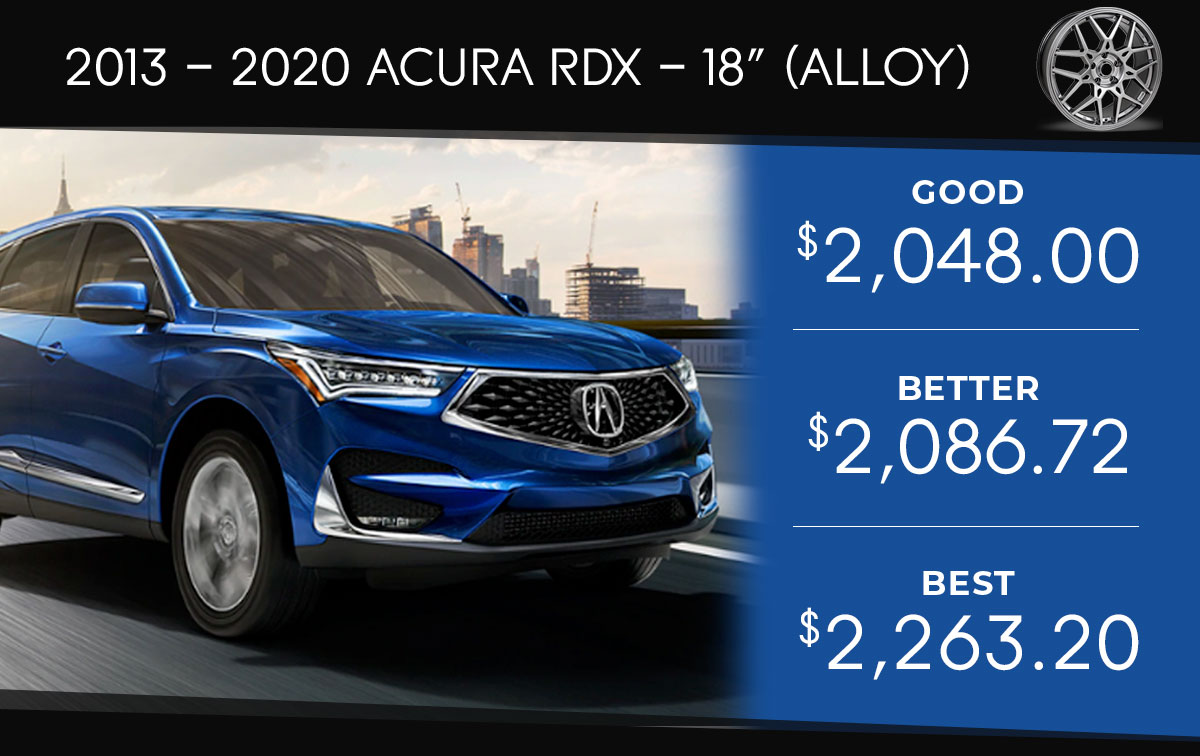 Acura RDX 18 Tire Special