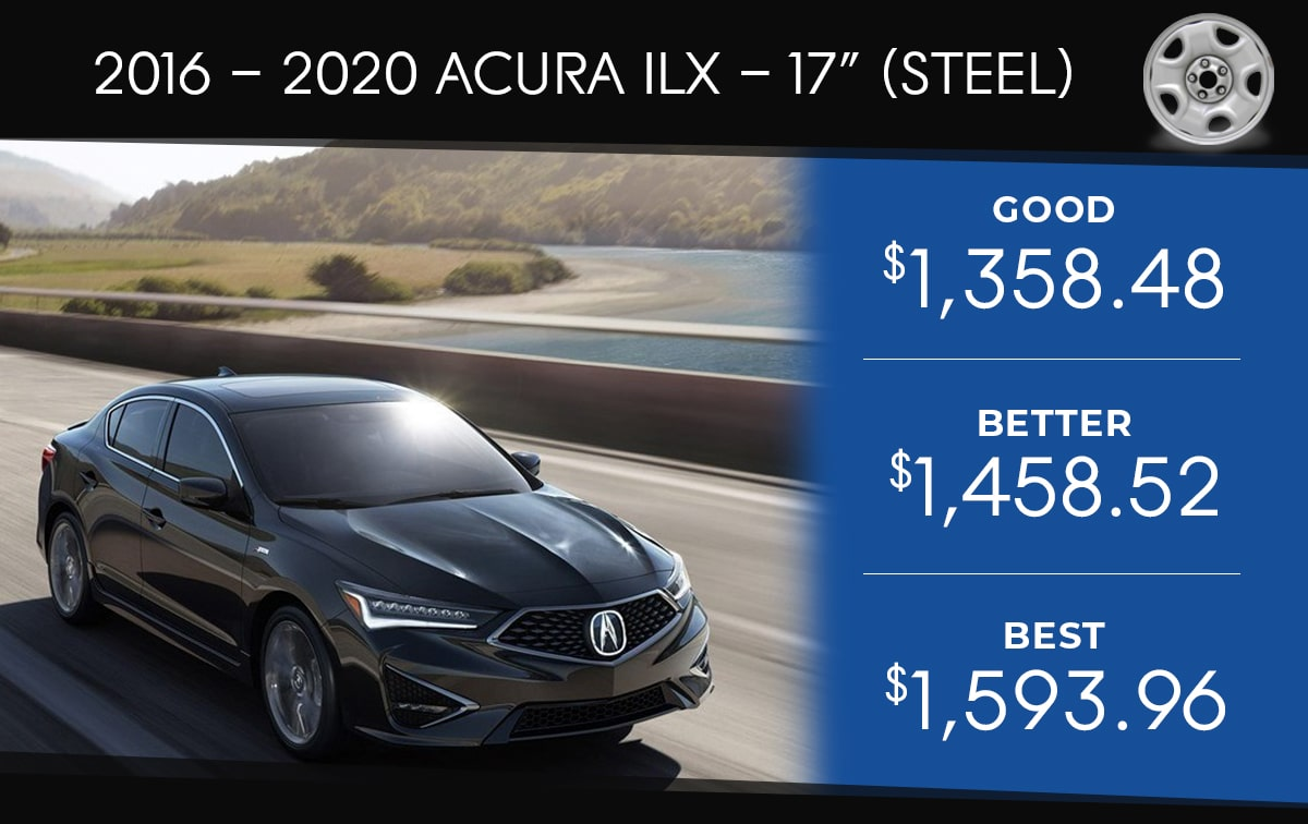 Acura TLX 17 Steel Tire Special