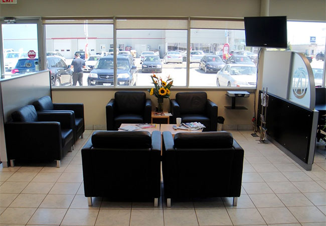Crown Acura Waiting Room
