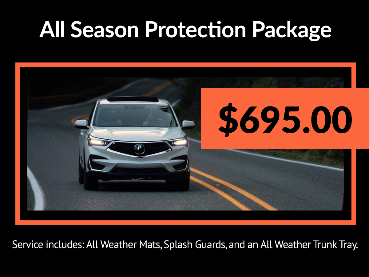 Acura All Season Protection Package Service Special Coupon