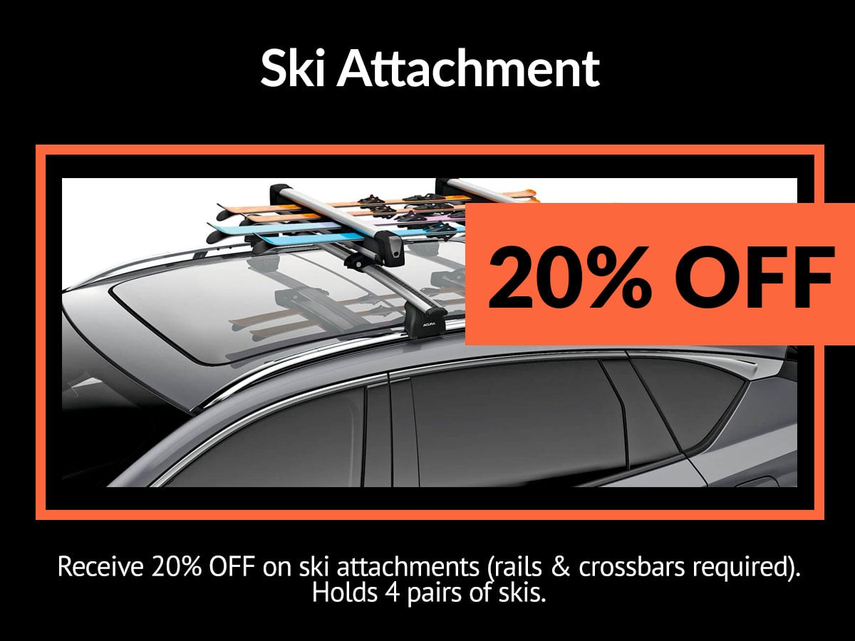 Acura Ski Attachment Service Special Coupon