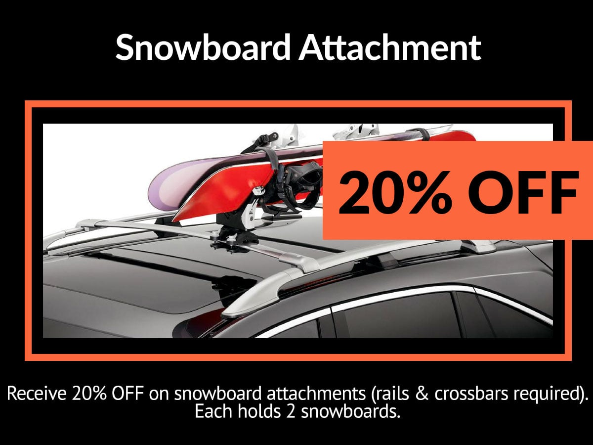 Acura Snowboard Attachment Service Special Coupon