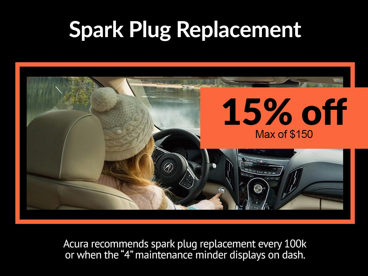 Acura Spark Plug Replacement Service Special Coupon