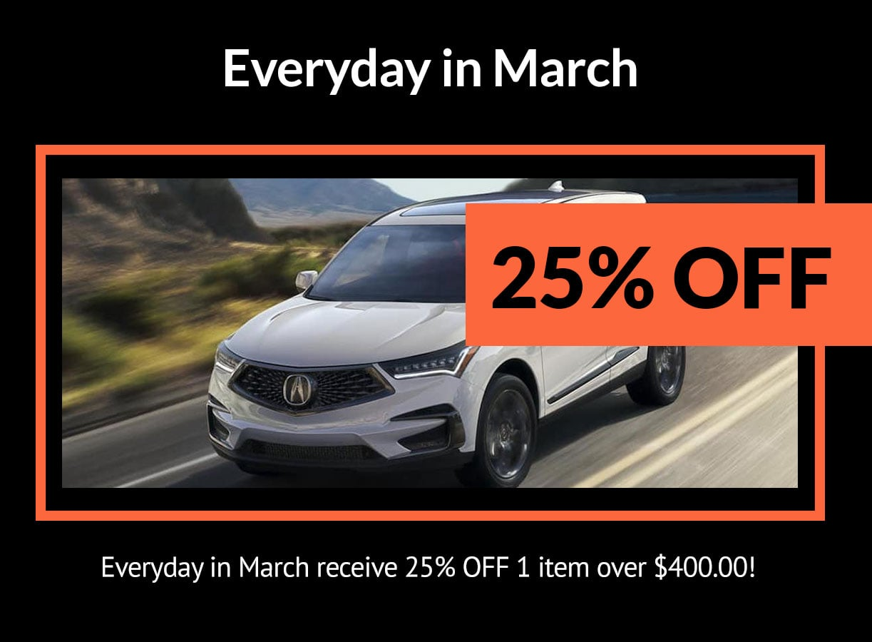 Acura Everyday in March Special Coupon