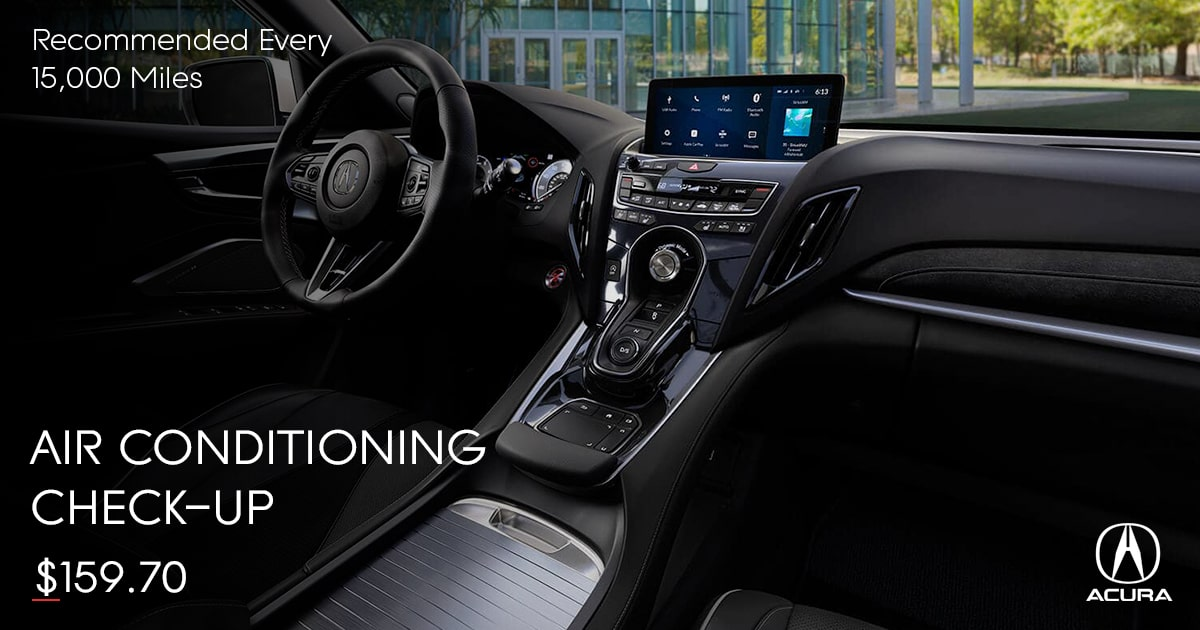 Acura Air Conditioning Check-Up Service Special Coupon