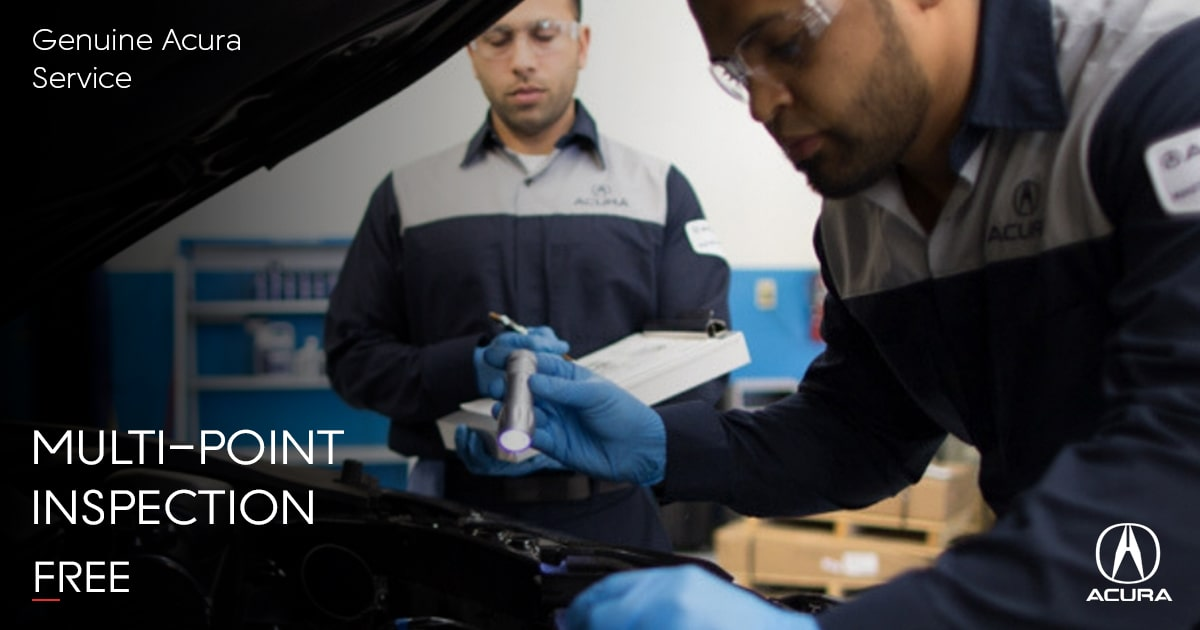 Acura Multi-Point Inspection Service Special Coupon
