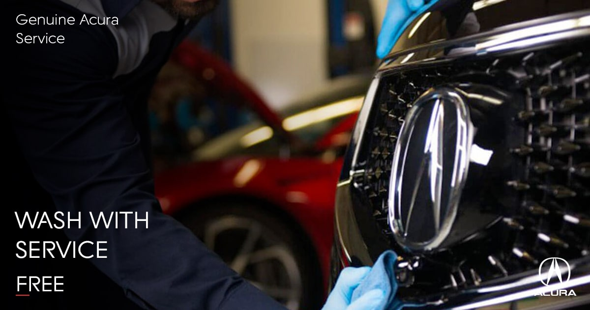 Acura Wash With Service Special Coupon