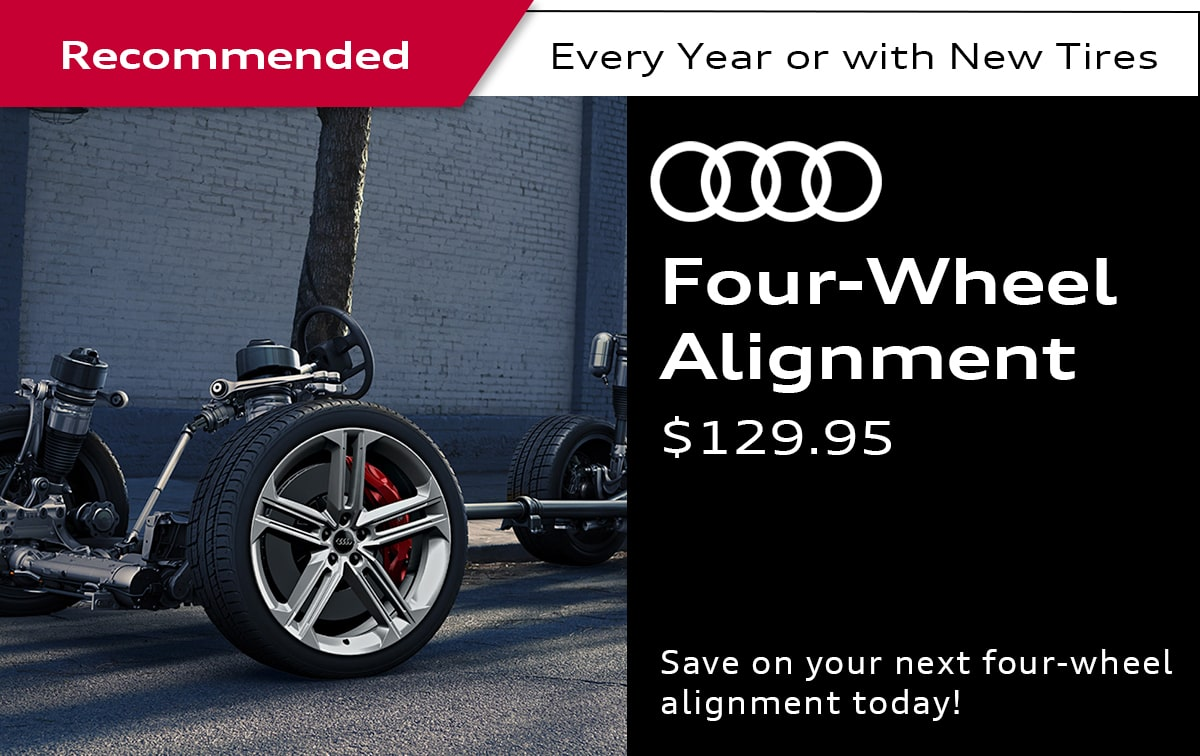 Audi Four-Wheel Alignment Service Special Coupon