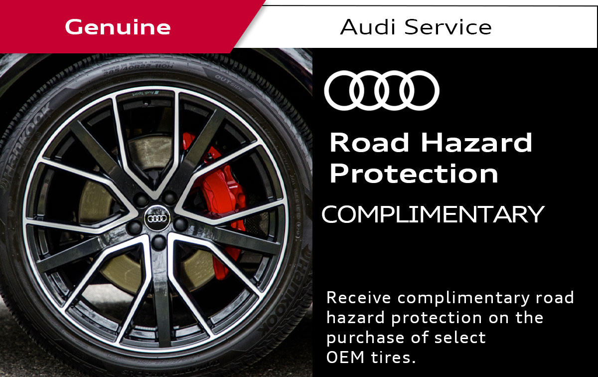 Audi Road Hazard Protection Service Special Coupon