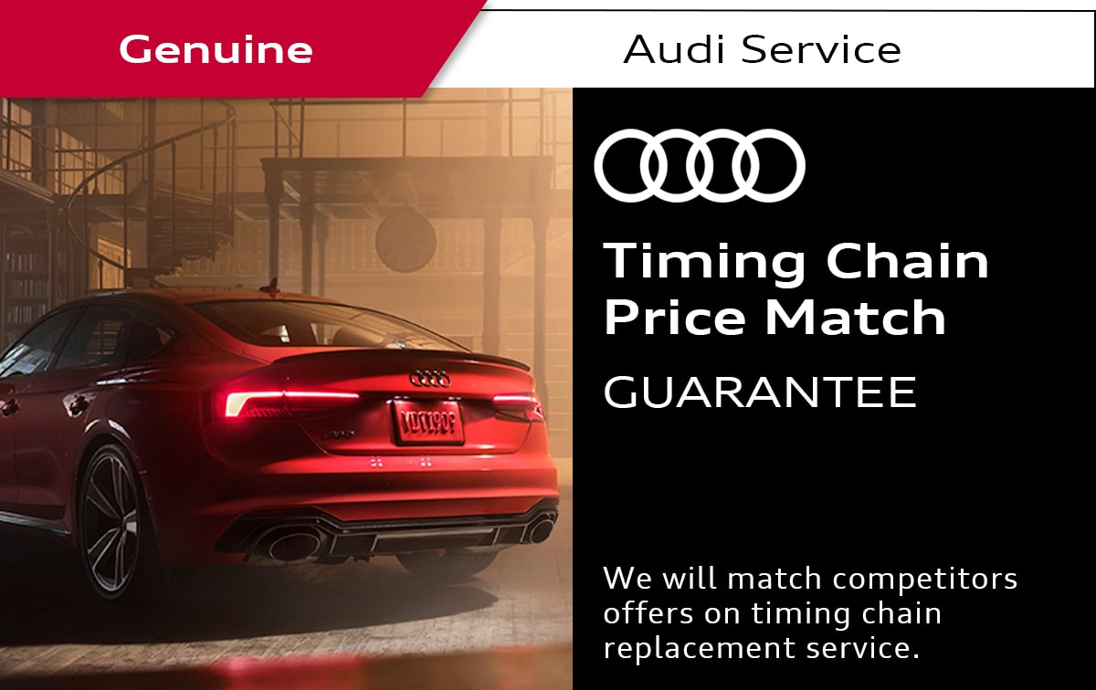 Audi Timing Chain Service Special Coupon