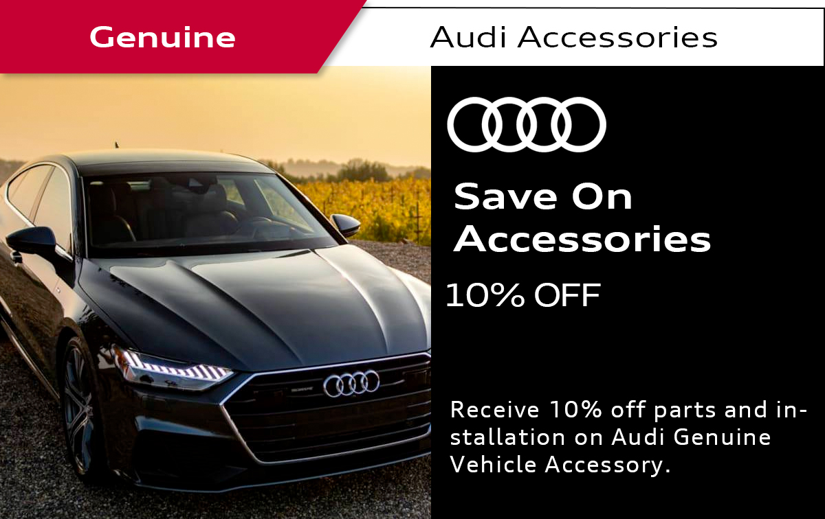 Audi Accessories Special Coupon
