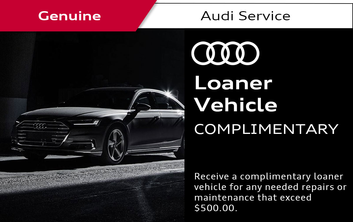 Audi Loaner Vehicle Service Special Coupon