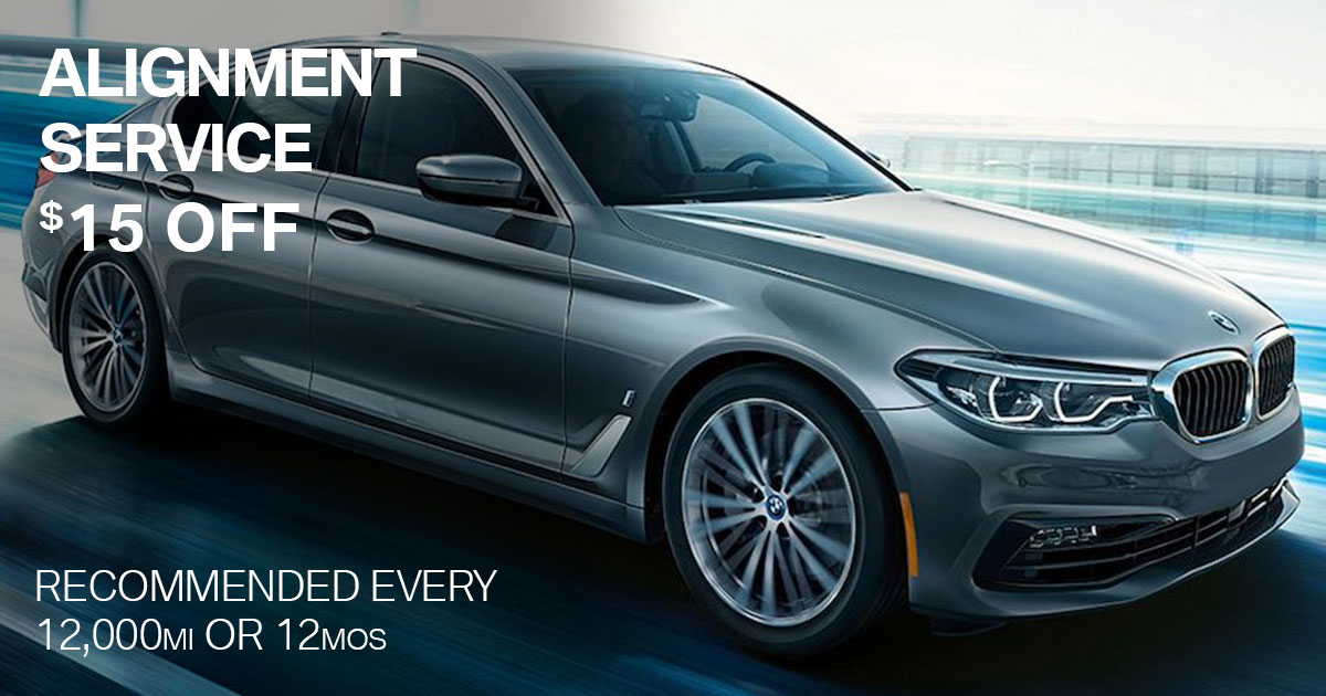 BMW Alignment Service Special Coupon