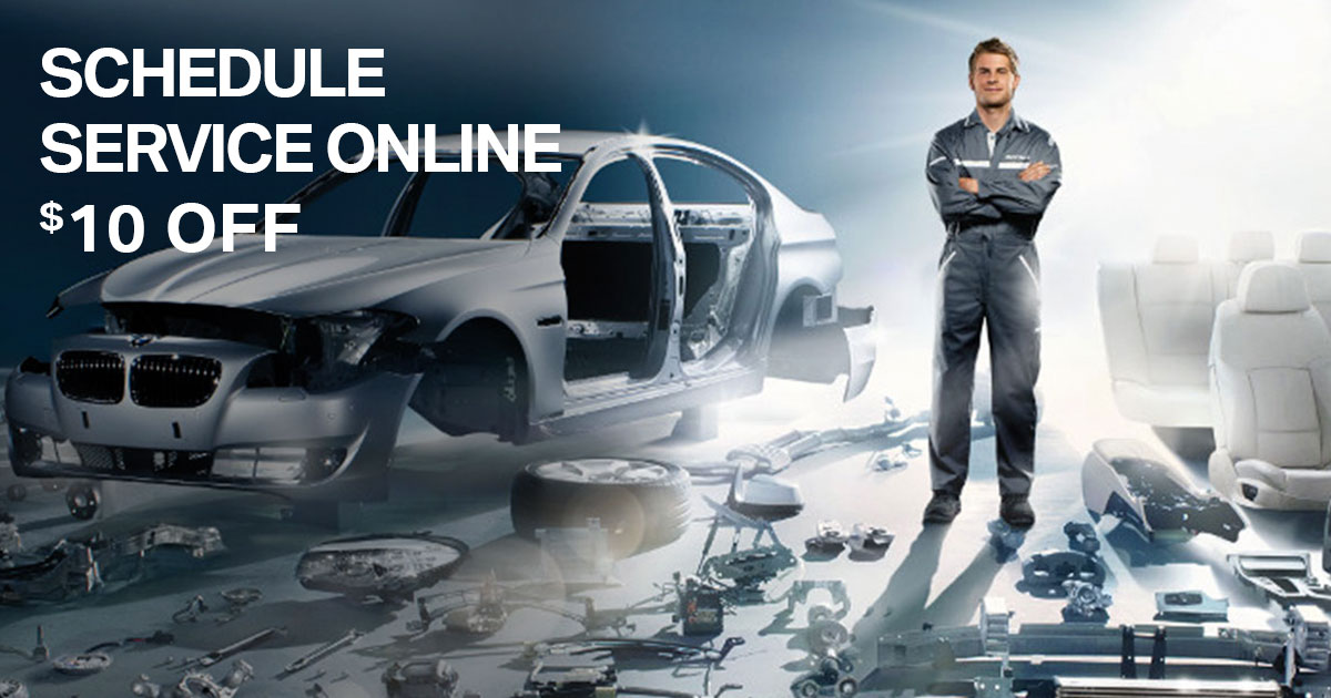 BMW Schedule Online Special Coupon