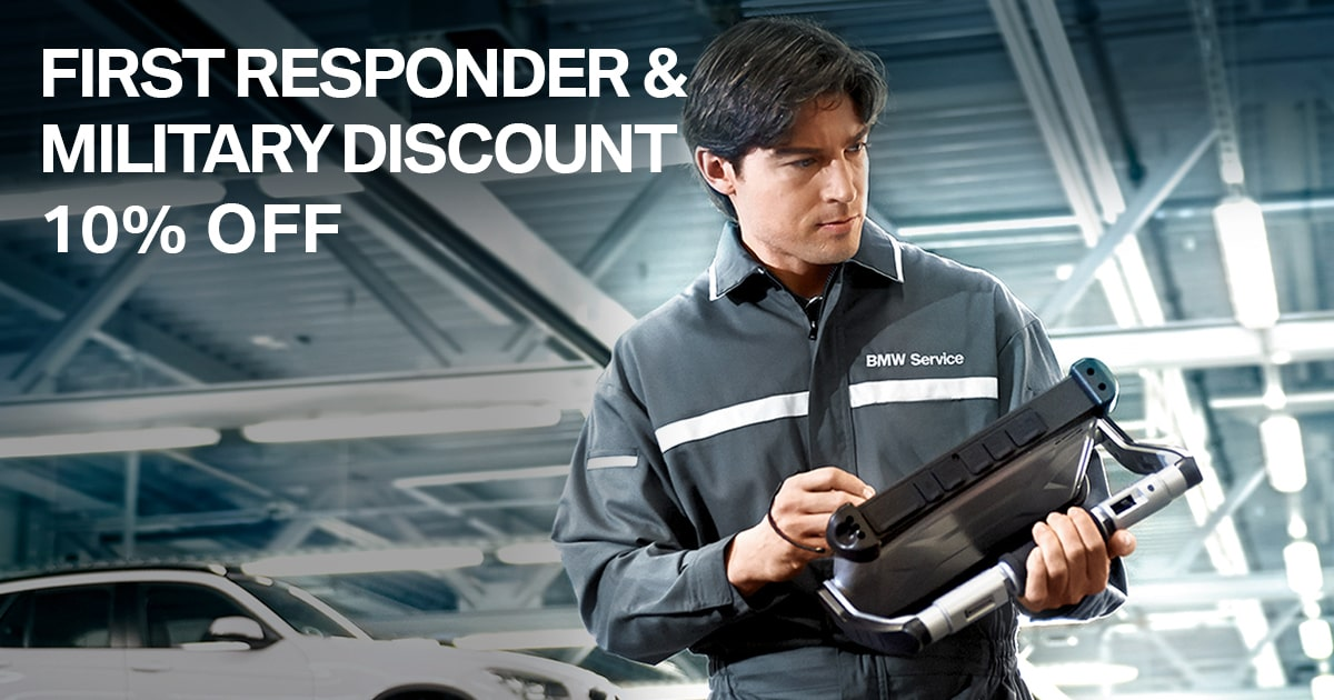 BMW Military & First Repsonder Special Coupon