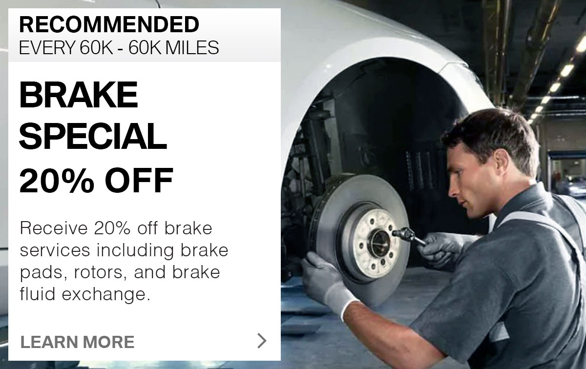 BMW Brake Special Service Special Coupon St. Louis, MO