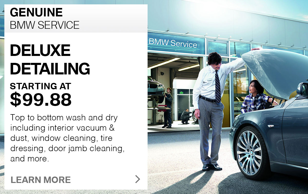 BMW Deluxe Detail Service Special Coupon St. Louis, MO