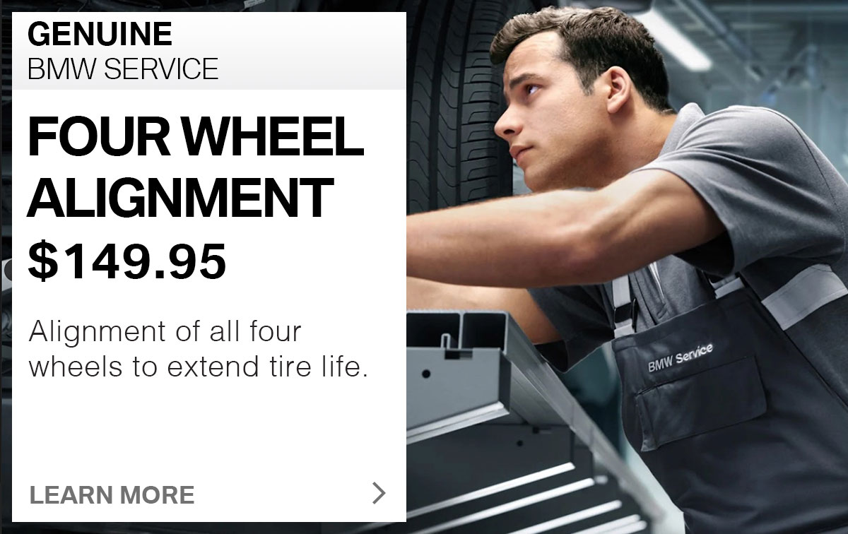 BMW 4-Wheel Alignment Service Special Coupon St. Louis, MO