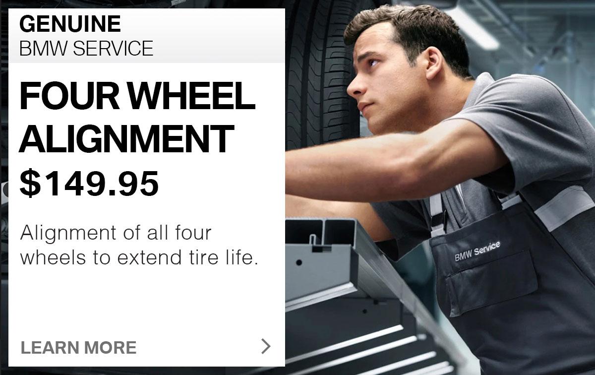 Suntrup BMW Four-Wheel Alignment Service Special Coupon St. Louis, MO