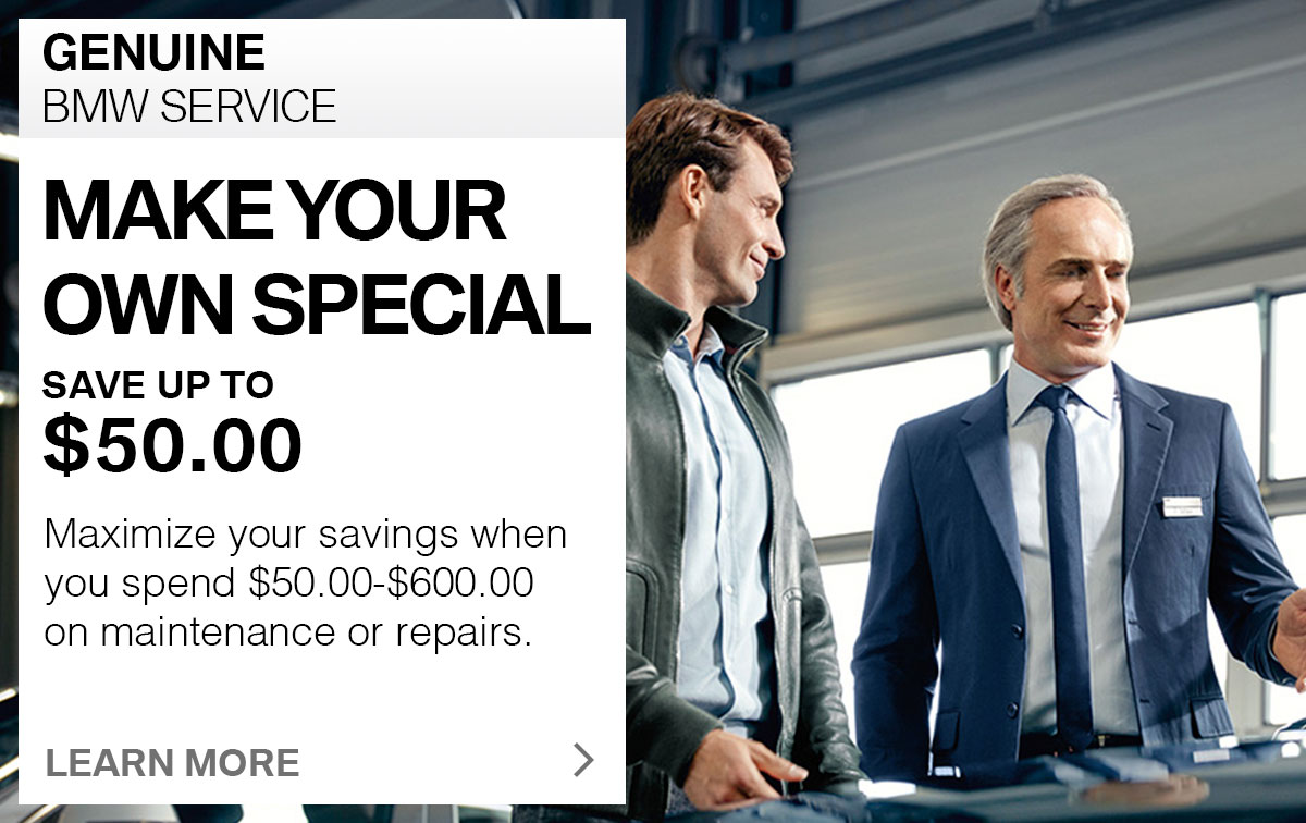 BMW Make Your Own Special Service Coupon St. Louis, MO