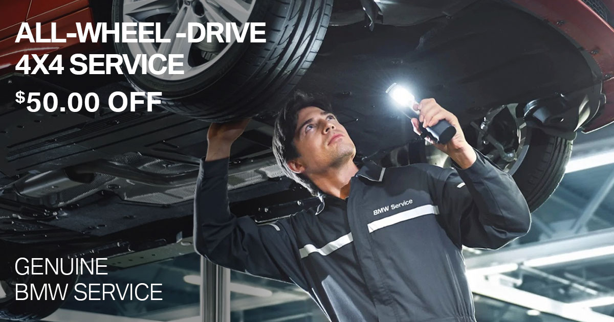 BMW All-Wheel-Drive Service Special Coupon