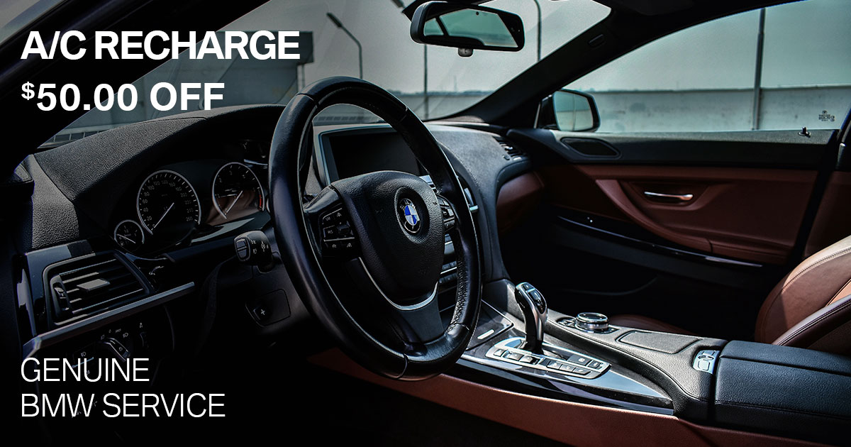 BMW A/C Recharge Service Special Coupon