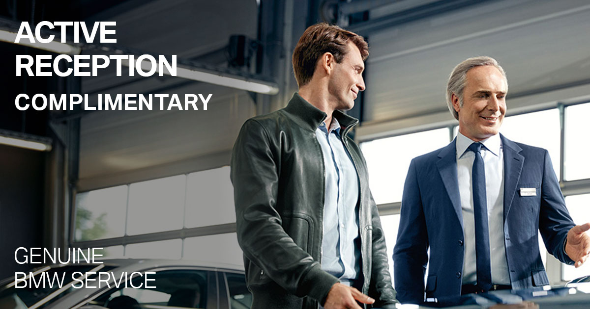 BMW Active Reception Service Special Coupon