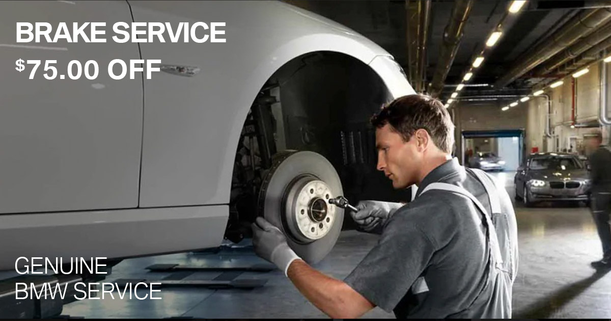BMW Brake Service Special Coupon