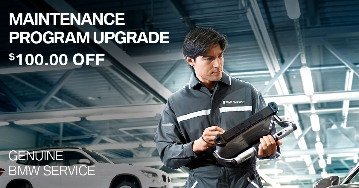 BMW Maintenance Program Upgrade Service Special Coupon