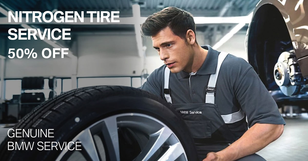 BMW Nitrogen Tire Service Special Coupon