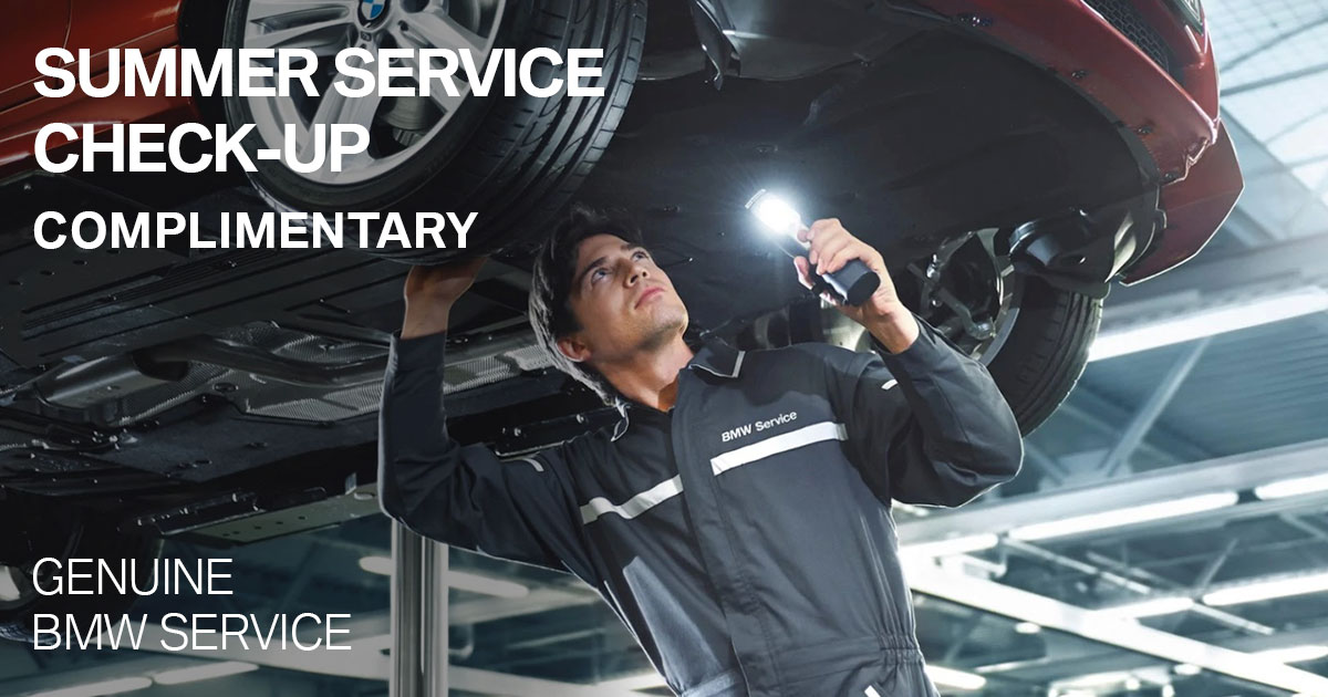 BMW Summer Service Check-Up Service Special Coupon