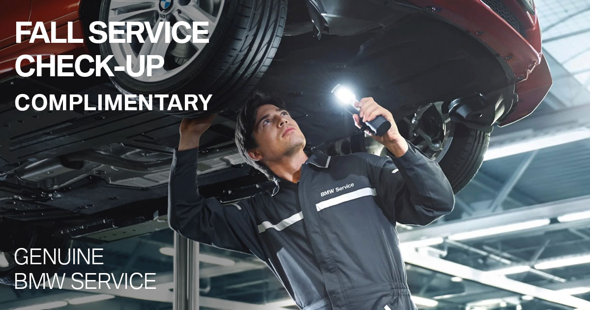 BMW Fall Service Check-Up Service Special Coupon
