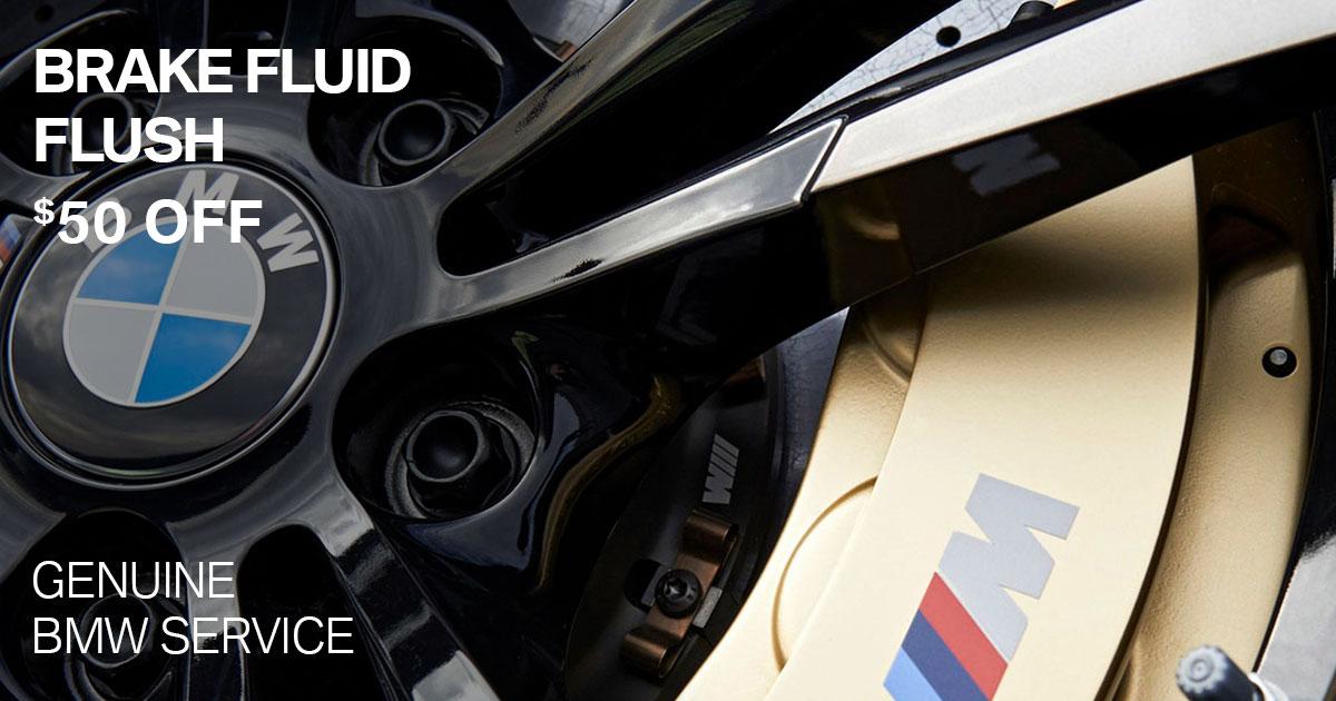 BMW Brake Fluid Flush Service Special Coupon