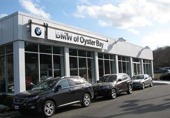 BMW of Oyster Bay Main Entrance