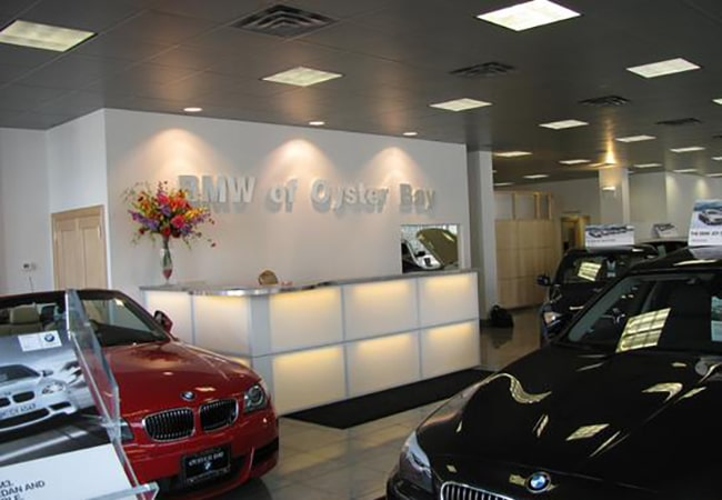 BMW of Oyster Bay Showroom
