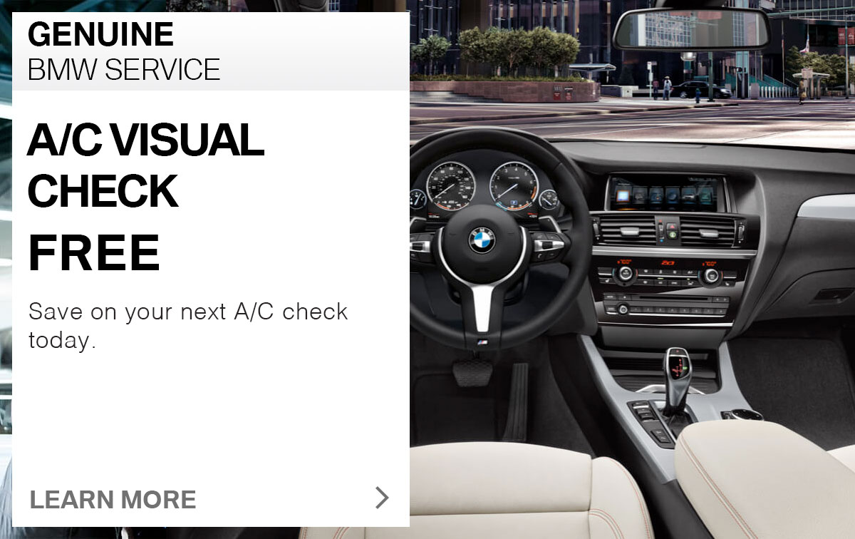 BMW A/C Visual Check Service Special Coupon