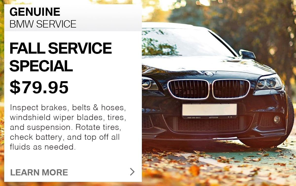 BMW Fall Service Special Coupon