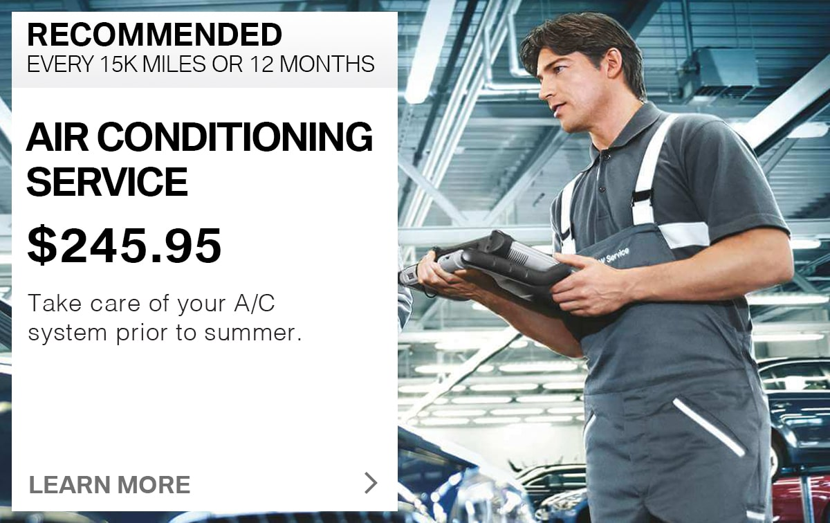 BMW Air Conditioning Service Special Coupon