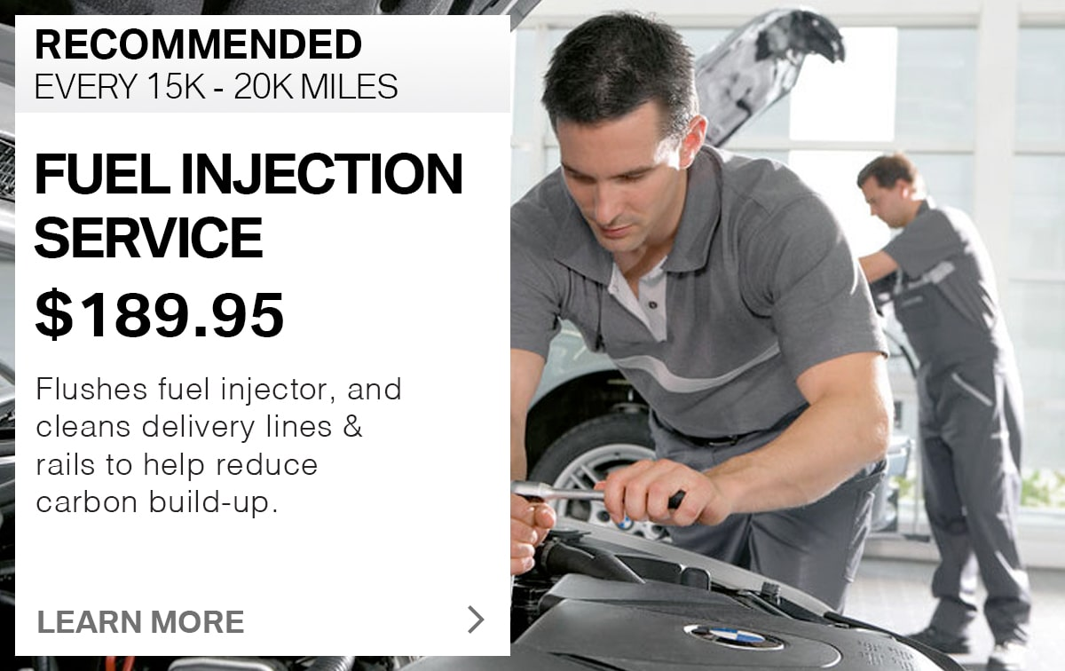BMW Fuel Injection Service Special Coupon