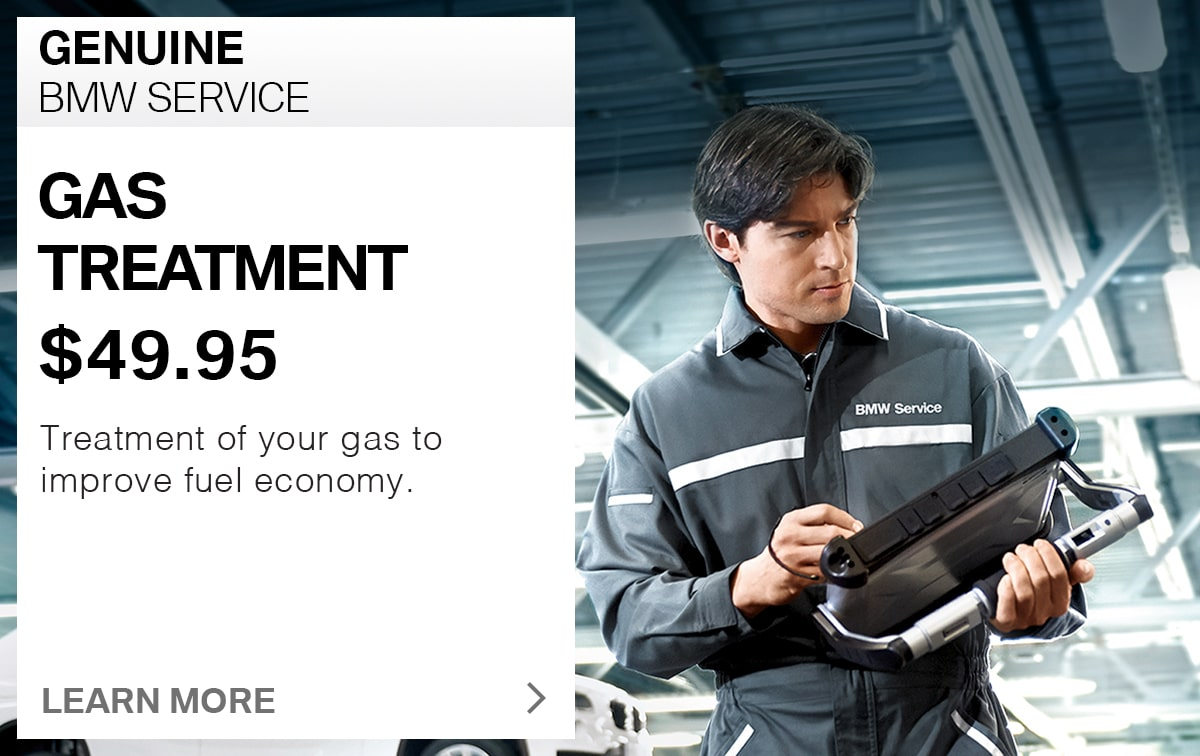 BMW Gas Treatment Service Special Coupon