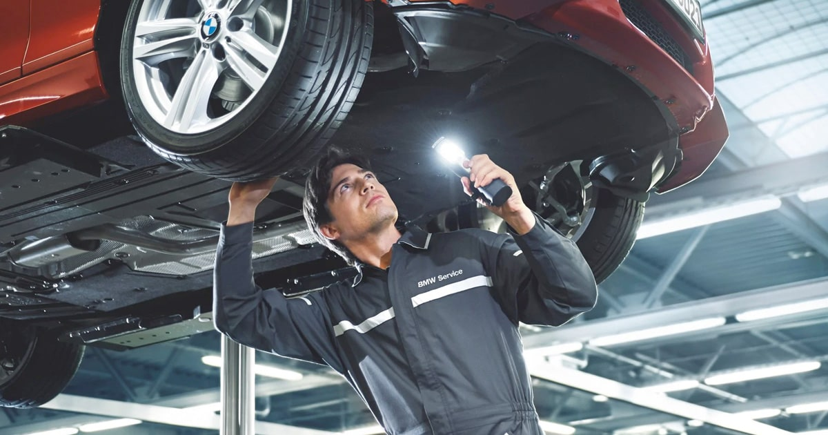 BMW Four-Wheel Alignment Service Special Coupon