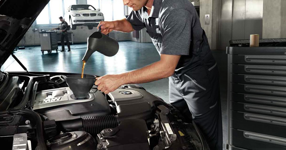 BMW Full Synthetic Oil Change Service Special Coupon