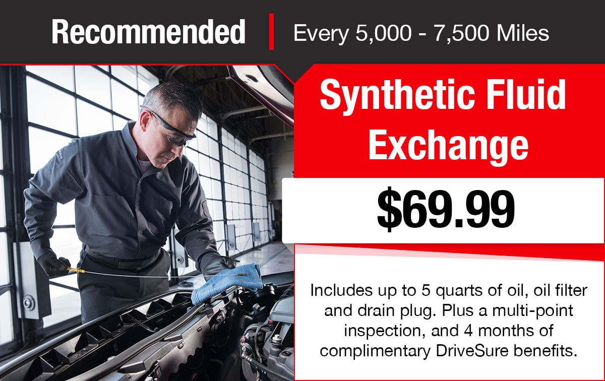 Buick GMC Synthetic Fluid Exchange Service Special Coupon