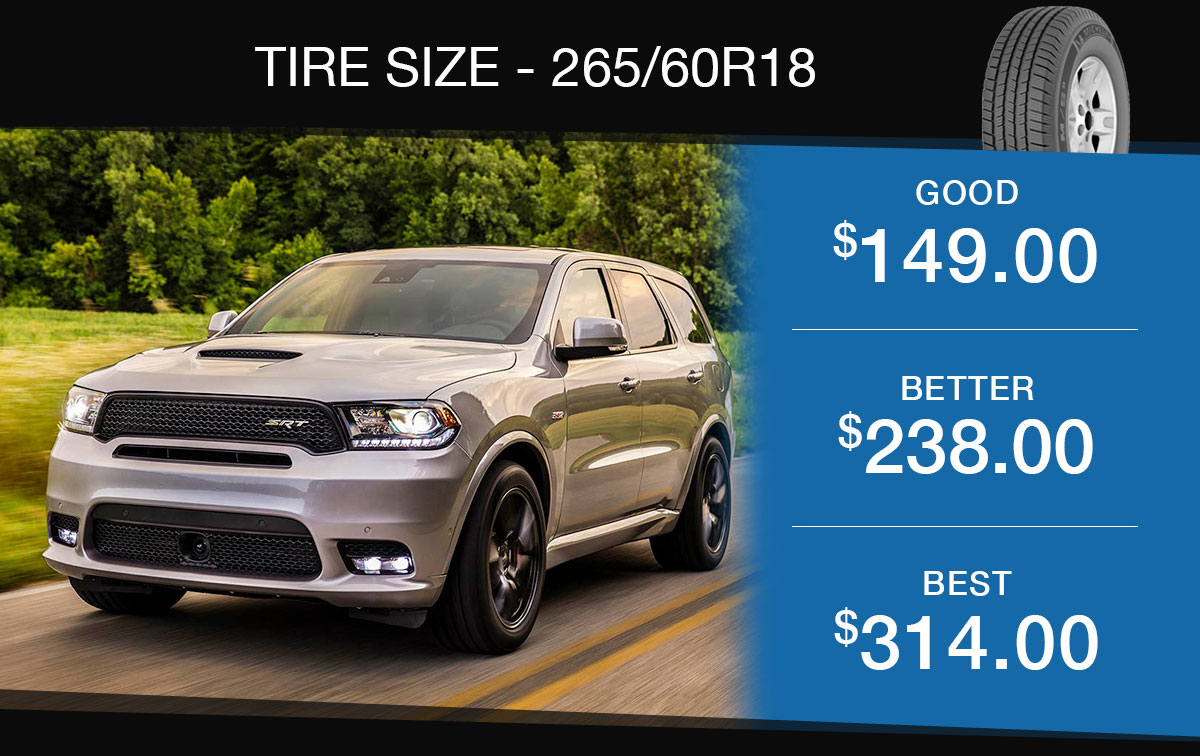 I-5 Chrysler Jeep Dodge Ram SUV Tire Specials Coupon