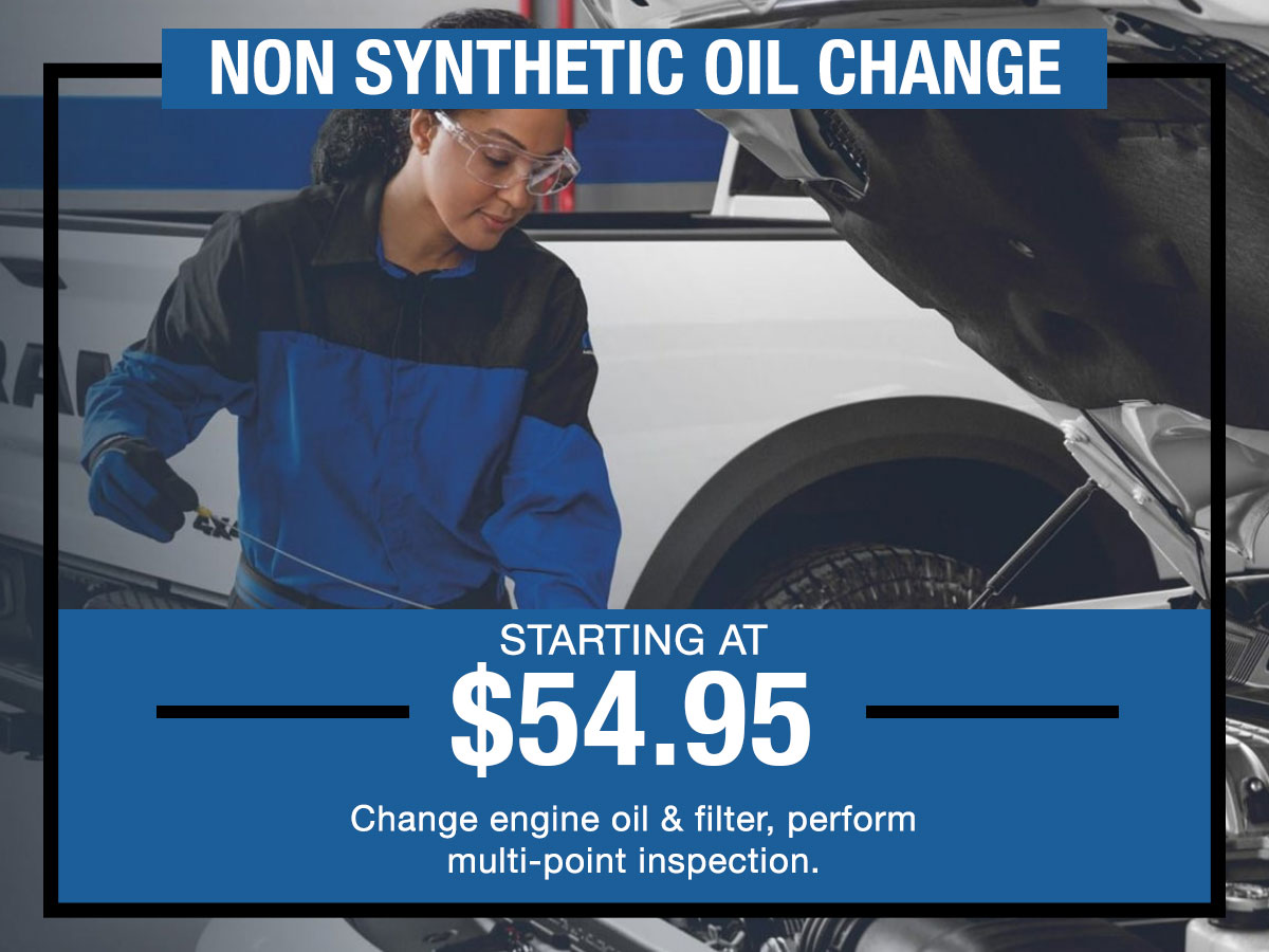 Conventional Oil Change Service Coupon
