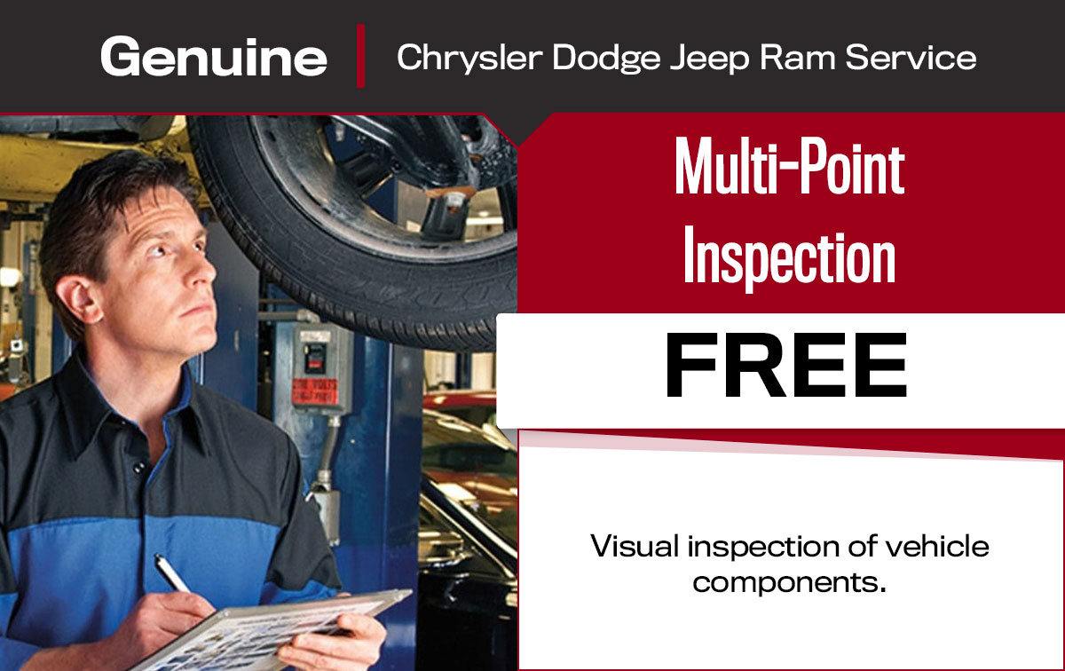 Multi-Point Inspection Service Special Coupon